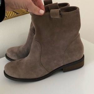 Sole Society Gray Booties